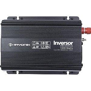 Inversor Hayonik 1000W 12VDC/220V Onda Modificada PW11-9