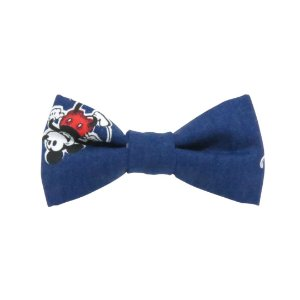 Gravata borboleta Mickey marinho