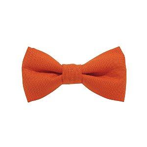 Gravata borboleta laranja