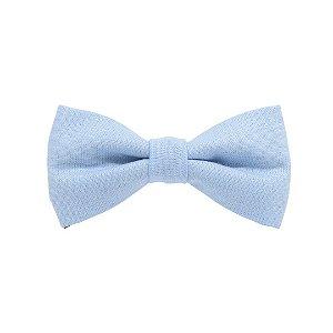 Gravata borboleta azul bebê