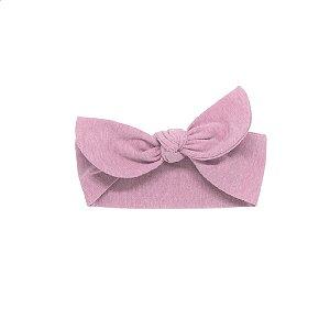 Faixinha de cuca stone rosa