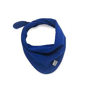 Babeiro toalha de boca basic azul escuro