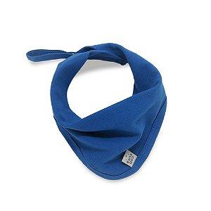 Babeiro toalha de boca basic azul