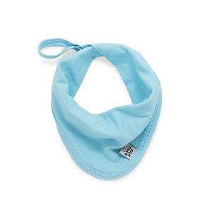 Babeiro toalha de boca basic aqua