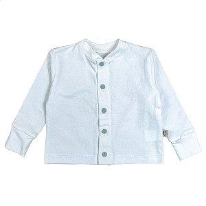 Cardigan basic branco