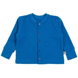 Cardigan basic azul