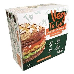 Lanche Pronto Vegano | Veg To Go Cenoura e Quinoa