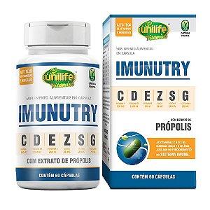 Imunutry - Vitamina C, E, D, Zinco, Selênio e Própolis