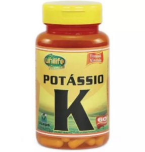 Potássio  K - 60 cápsulas