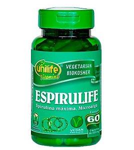 Espirulife - spirulina máxima, microalga