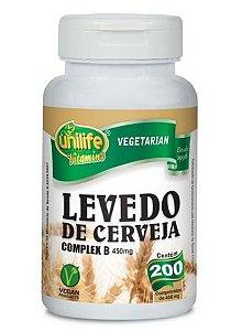 Levedo de Cerveja - 200 comprimidos