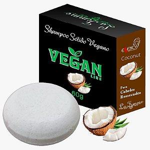Shampoo sólido Vegetal COCONUT cabelos ressacados