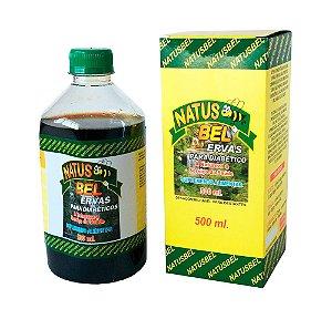Natus  Bel  Ervas para  diabéticos -  1 unidade  com 500 ml.