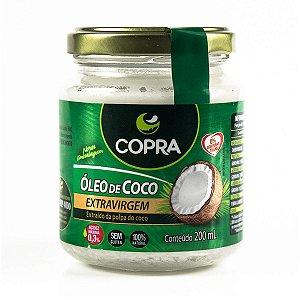 Óleo de coco extra virgem - 200 ml