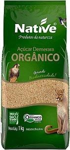 Açúcar Orgânico Demerara Native 1 kg