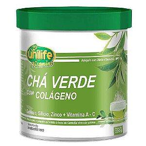 CHÁ VERDE com COLÁGENO, vitaminas e minerais - 220g