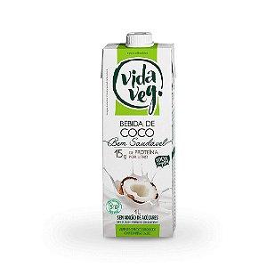 Leite vegetal de coco - 1 litro