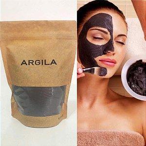 Argila  preta pura orgânica  400 g
