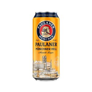 Cerveja Alemã Paulaner Münchner Hell Lata 500ml