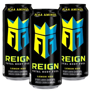 Reign Lemon HDZ Suplemento Alta Performance BCAA Kit com 3