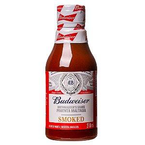 Molho de Pimenta Maltado Budweiser Smoked