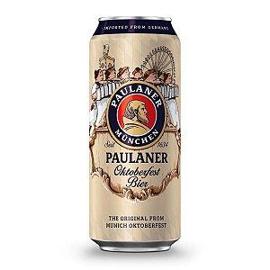 Cerveja Alemã Paulaner Oktoberfest Bier Lata 500ml
