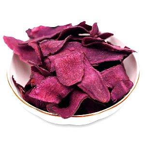 Chips de Batata Doce Roxa Snack 100% Vegano