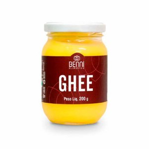 Manteiga Clarificada (Purificada) Ghee Tradicional 200g