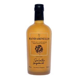 Mandarinello Salvatore Longobardo 700ml Licor de Tangerina