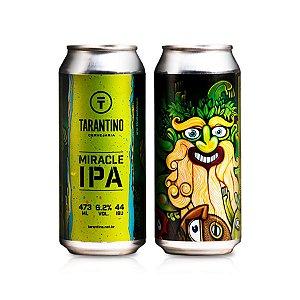 Cerveja Tarantino Miracle IPA 473ml - 6,2% + 44 IBU