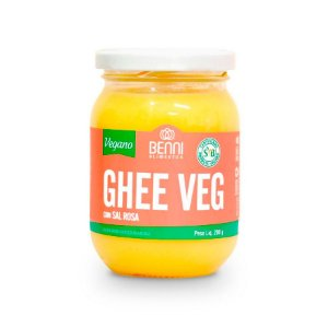 Ghee Veg Manteiga Vegana com Sal Rosa 200g