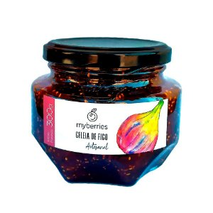Geleia Artesanal de Figo Myberries 300g