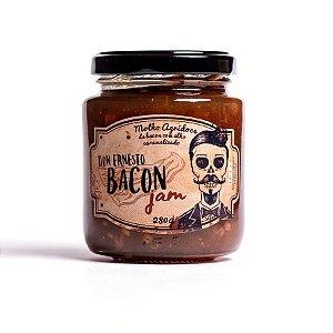 Geleia de Bacon com Alho Caramelizado