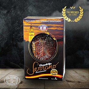 Presunto Serrano Premium Jamon sem Osso 18 Meses Cura 1kg