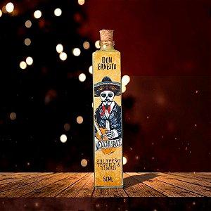 Molho de Pimenta Jalapeño com Tequila e Limão