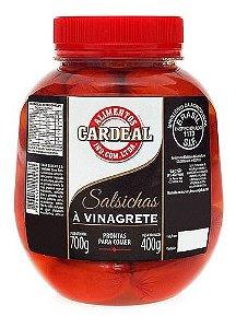 Salsicha Em Conserva De Vinagrete Cardeal 700g
