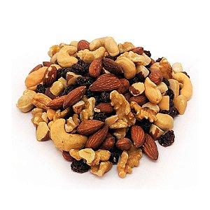 Mix de Nuts: Amêndoa, Castanhas Do Pará e Caju, Nozes e Uva Passa