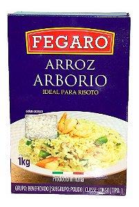 Arroz Para Risoto Italiano Tipo Arbório Longo Fegaro 1kg