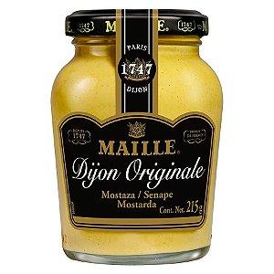 Mostarda Francesa Dijon Originale Maille Sem Sementes 215g