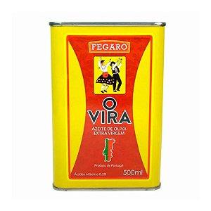 Azeite Extra Virgem Português O Vira Acidez 0,5% 500ml