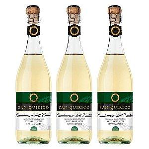 3 Vinhos Lambrusco dell'Emilia - Branco Suave 750ml