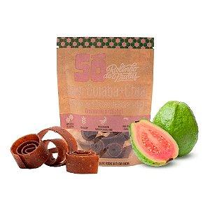 Snack Vegano - Rolinho de Frutas - Goiaba e Chia 30g