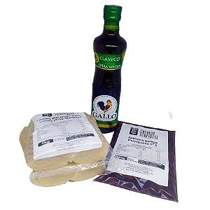 Kit Páscoa 1: Lombo Bacalhau Porto + Azeitona Portuguesa + Azeite Gallo