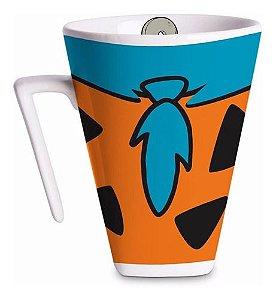 Caneca Fred Flintstone de Porcelana 400ml
