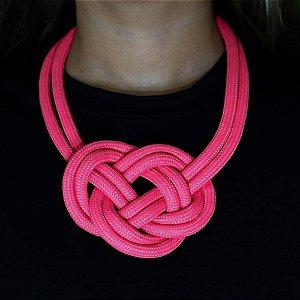 Colar de Corda Náutica Pink