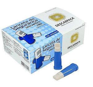 Lanceta Automática 28g (0,36 x 1,8mm) - Descarpack