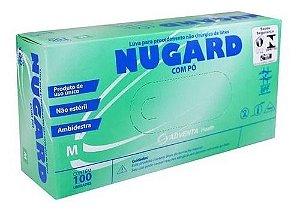 Luva de Procedimento Látex Não Estéril Tam. M - Nugard