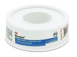 Fita Micropore Branca (12,5mm x 10m) - 3M