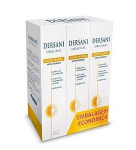 Kit Dersani Loção Oleosa de Girassol AGE e TCM (200ml) - Saniplan