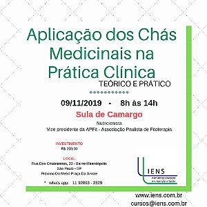 Aplicação dos Chás Medicinais na Prática Clínica - Teórico e Prático